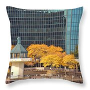 Toledo Riverfront 4195 Throw Pillow