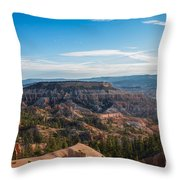 Toll Of Time Throw Pillow
