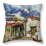 Tom Sparacino - Our Art Instructor Throw Pillow
