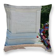 Tomb Of The Unknown Throw Pillow