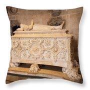 Tomb Of Vasco Da Gama Throw Pillow