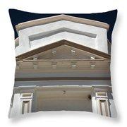 Tombstone Courthouse Throw Pillow