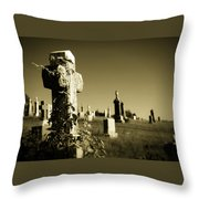 Tombstone Ivy Throw Pillow