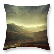 Tombstone Range Seasons Throw Pillow