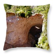 Tonto Natural Bridge Throw Pillow