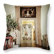 Tony Duquette's Entrance Hall Throw Pillow