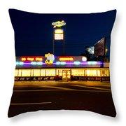 Tony Lukes - Cheese Steaks Throw Pillow