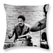 Tony Williams At The Penthouse Throw Pillow