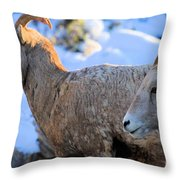 Too Early Throw Pillow
