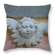 Too Fat To Fly Throw Pillow
