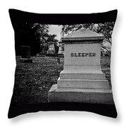 Too Ironic Throw Pillow
