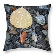 Too Little Too Late Throw Pillow