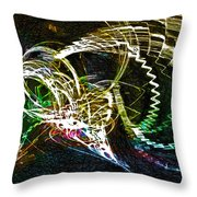 Too Long In A Dark Cave  Throw Pillow