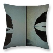 Too Much Self Reflection Can Lead To Narcissism Throw Pillow