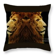 Too Strong Throw Pillow