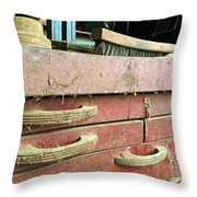 Toolbox Picking Throw Pillow