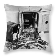 Tools Of The Safe Cracker Throw Pillow