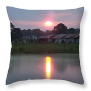 Tootsie's Katrina Barn Throw Pillow