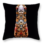 Top Count D Throw Pillow