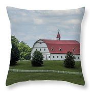 Top Notch Classic Barn Throw Pillow