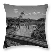 Top Of The Dam Throw Pillow
