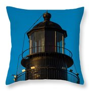 Top Of The Key West Lighthouse  Throw Pillow