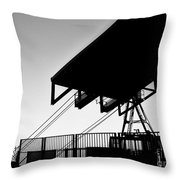 Top Of The World San Marino Cable Car Throw Pillow