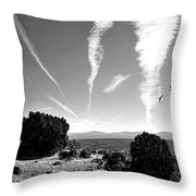 Top Of White Rock Mountain Throw Pillow
