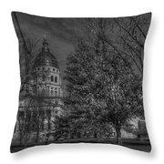 Topeka Capital Throw Pillow