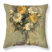 Topiary Bouquet 1 Throw Pillow