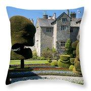 Topiary Garden Throw Pillow