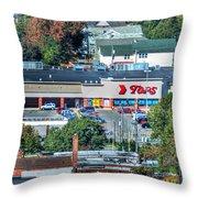 Tops On Niagara St Throw Pillow