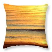 Topsail Golden Mist Throw Pillow