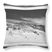 Topsail Island Day Of The Dunes  Throw Pillow
