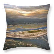 Topsail Island Paradise Throw Pillow