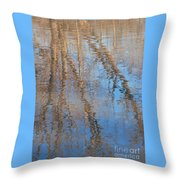 Topside Down Throw Pillow