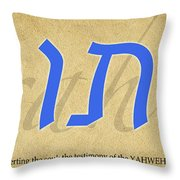 Torah Throw Pillow