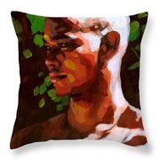 Torano In The Afternoon Throw Pillow