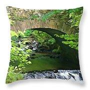 Torc Bridge Throw Pillow