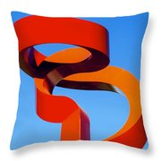 Torch Of Friendship Throw Pillow