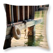 Torch River Bayou Throw Pillow