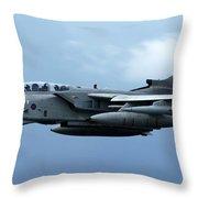 Tornado Takeoff Throw Pillow