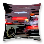 Toro Rosso Pit Throw Pillow