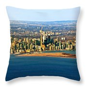 Toronto 2 Throw Pillow