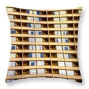 Toronto Apartment Building Throw Pillow