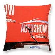 Toronto Autoshow Throw Pillow