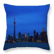 Toronto Blues... Throw Pillow