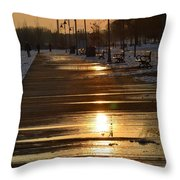 Toronto Boardwalk Throw Pillow