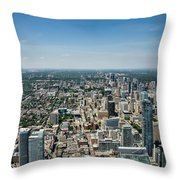Toronto Divide Throw Pillow