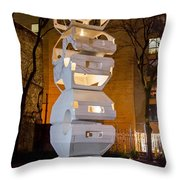 Toronto Sculpture Garden  7d01024 Throw Pillow